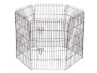 Wire Pet Playpen 6 panels size 63x 91cm 06-0115 Wire Pet Playpen 6 panels size 63x 91cm 06-0115