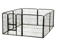 Suqare Tube Pet Fence Playpen size 80x 80cm 8pcs Dog Playpen: Pet Playpen Products, Dog Goods Fence
