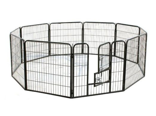 Suqare Tube Pet Fence Playpen 80x 80cm 10pcs 06-0126 Dog Playpen: Pet Playpen Products, Dog Goods Fence