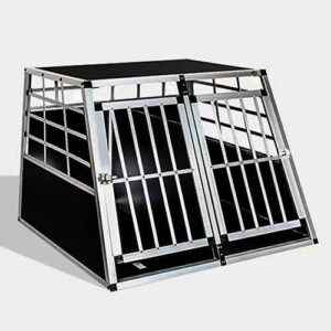 Large Double Door Dog cage 65a