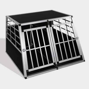 Large Double Door Dog cage 65a 104