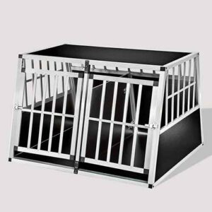 Large Double Door Dog cage With Separate board