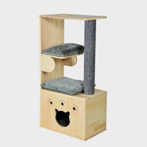 Pet Cat Furniture, Cat Tree House 06-0189