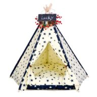 Pet Tents: Pet Teepee Bed House Folding Dog Cat Tents Dog Tent Dog Pet Tent: Pet Tent Best Selling Durable Washable Portable Stylish Canvas Bed 06-0938 Dog Pet Tent: Pet Tent Best Selling Durable Washable Portable Stylish Canvas Bed 06-0938