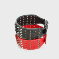 Customized Dog Collar Wide Long Spiked Rivet PU Leather Pet Dog Collar Leather Dog Collar Customized Dog Collar Wide Long Spiked Rivet PU Leather Pet Dog Collar Leather Dog Collar