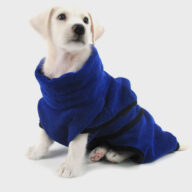 Dog Clothes: Shirts, Sweaters & Jackets Apparel Pet Super Absorbent and Quick-drying Dog Bathrobe Pajamas Cat Dog Clothes Pet Supplies Pet Super Absorbent and Quick-drying Dog Bathrobe Pajamas Cat Dog Clothes Pet Supplies
