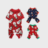 Dog Clothes: Shirts, Sweaters & Jackets Apparel Pet Clothes Christmas Day Outfit Four-legged Christmas Pajamas Pets Pajama Jumpsuit Pet Clothes Christmas Day Outfit Four-legged Christmas Pajamas Pets Pajama Jumpsuit